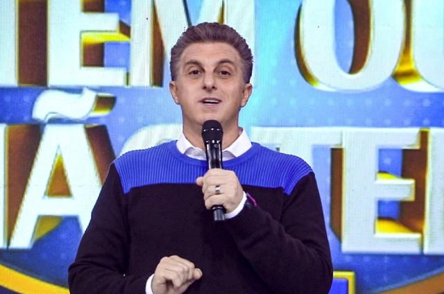 Luciano Huck no 'Caldeirão' (Foto: Globo)