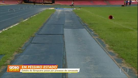 """""""Abandonado"""", estádio do Ibirapuera passa por processo de concessão"""