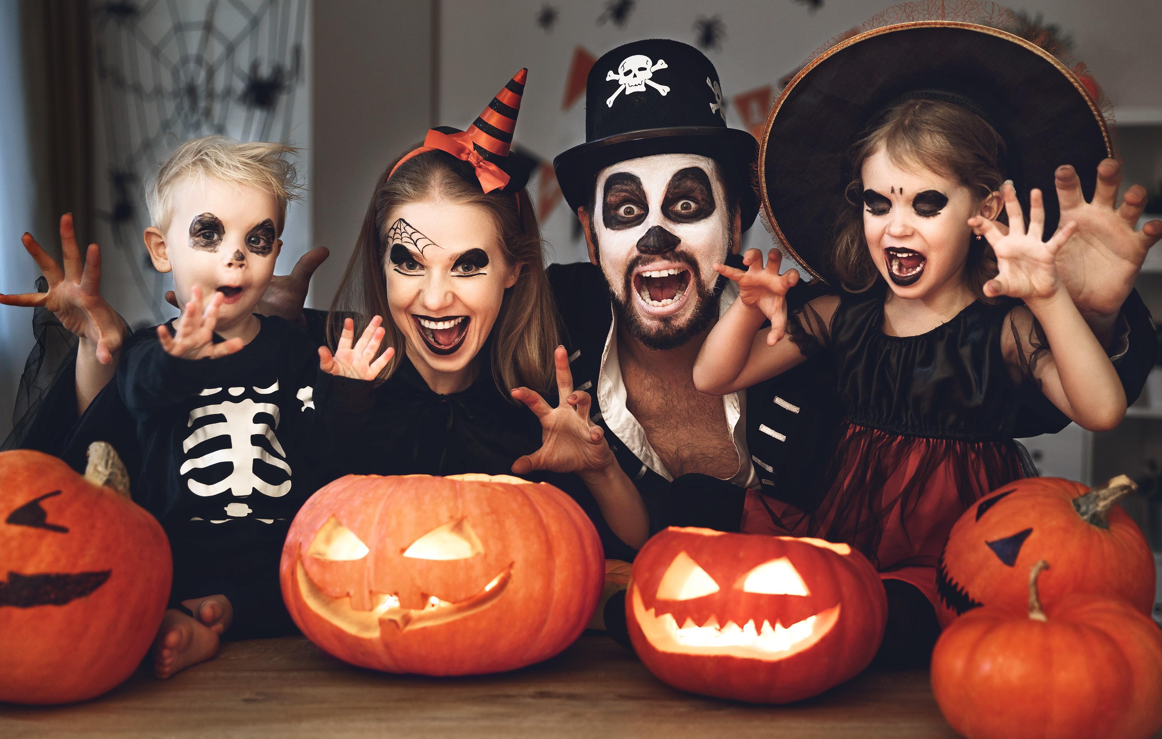 Cada vez mais o Halloween ganha espaço no Brasil  (Foto: Getty Images)