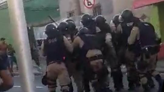 59c741751e PM admite que protestos em quartéis prejudicaram segurança do clássico