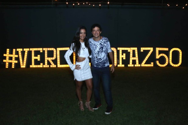 Martha Suarez e Jorge Vercillo (Foto: Daniel Pinheiro/AgNews)