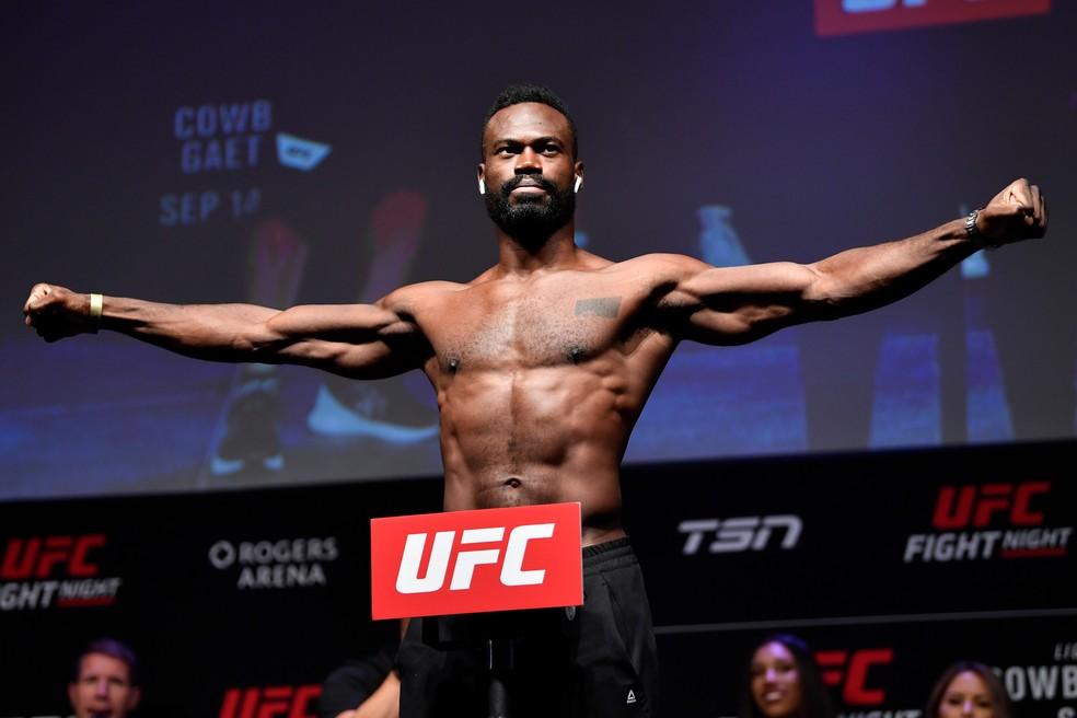Uriah Hall será o último adversário de Anderson Silva no UFC — Foto: Getty Images