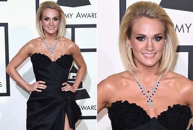 Carrie Underwood no Grammy 2016 (Foto: Getty Images)