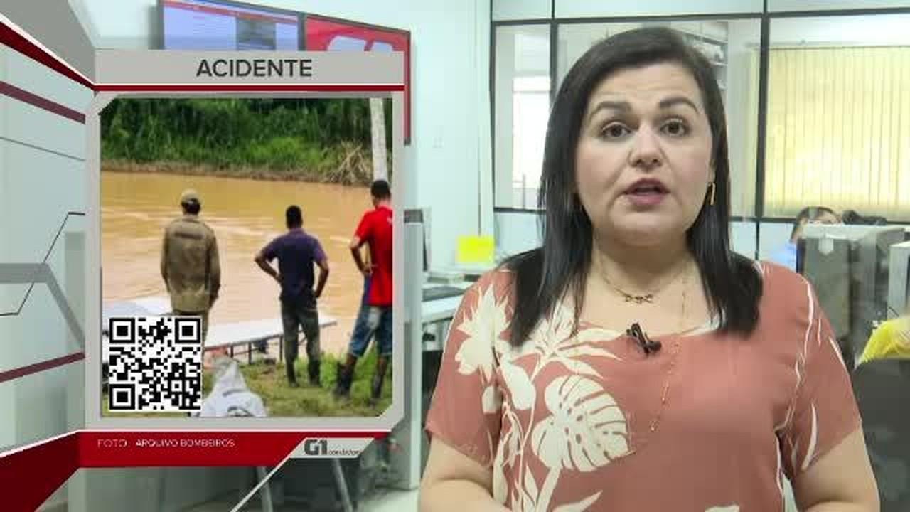 G1 em 1 Minuto - AC: Homem morre em Rio Branco ao ser atingido por árvore