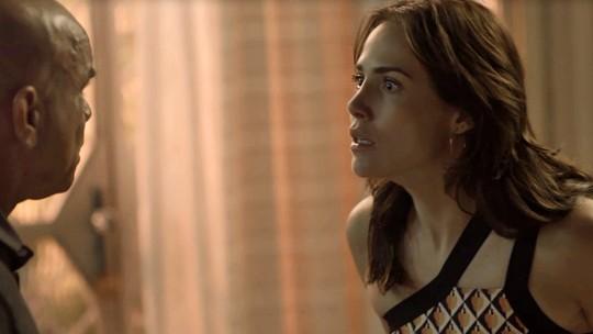 Galdino tenta matar Rosa após revelar segredo de Laureta