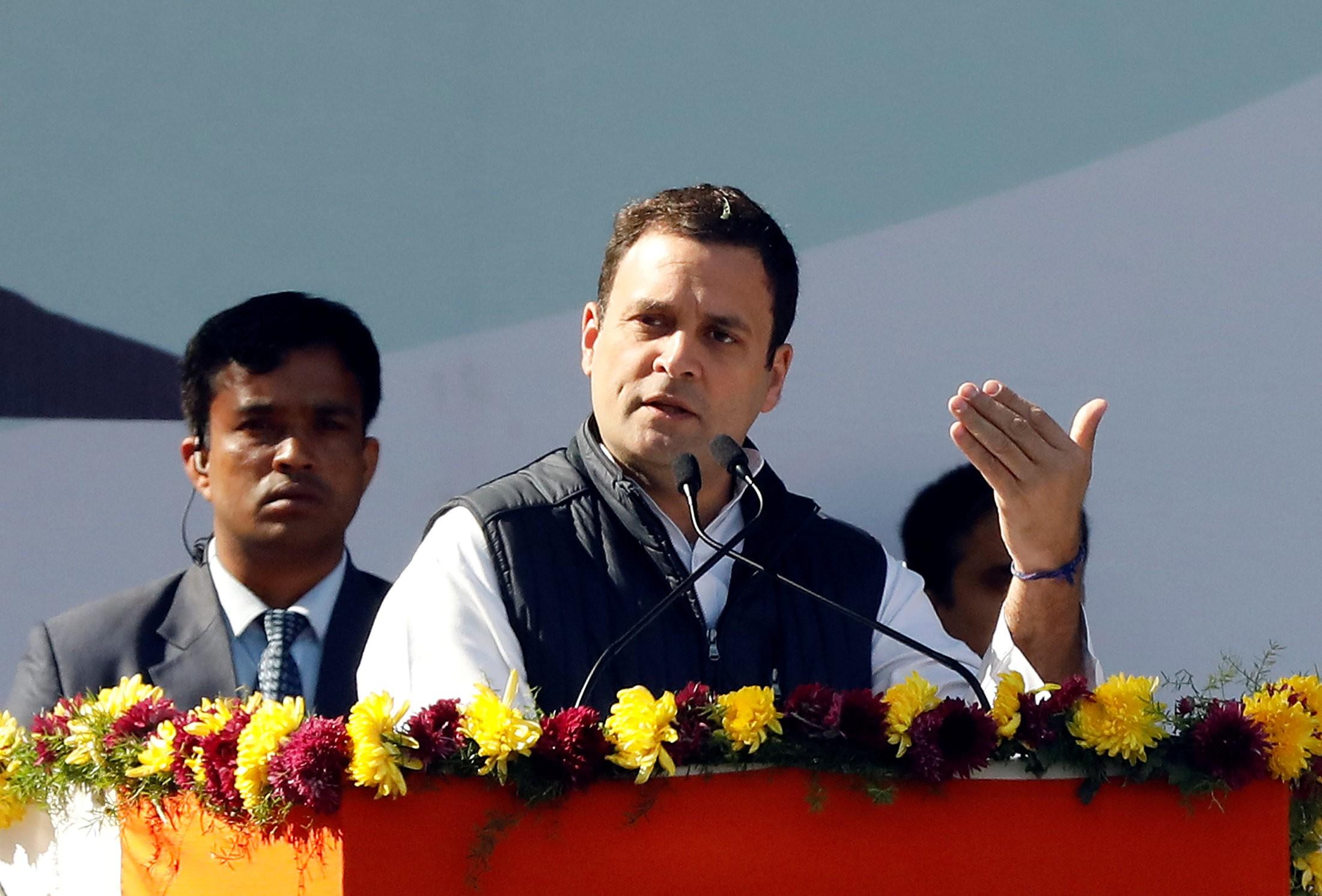 Rahul Gandhi assume como presidente do partido opositor na Índia