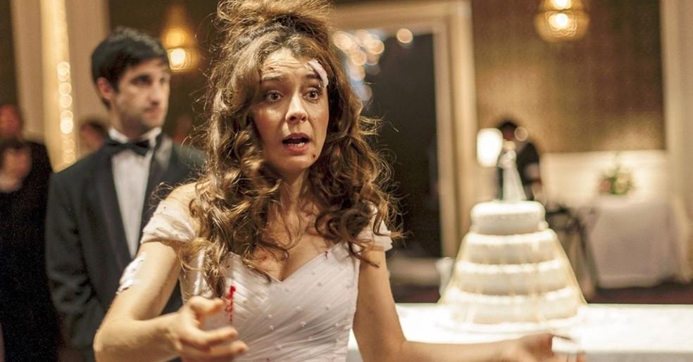 Erica Rivas em cena de Relatos Selvagens — Foto: Divulgação