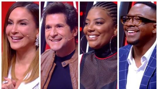 'The Voice +': técnicos revelam nervosismo na hora de fazer escolha entre vozes