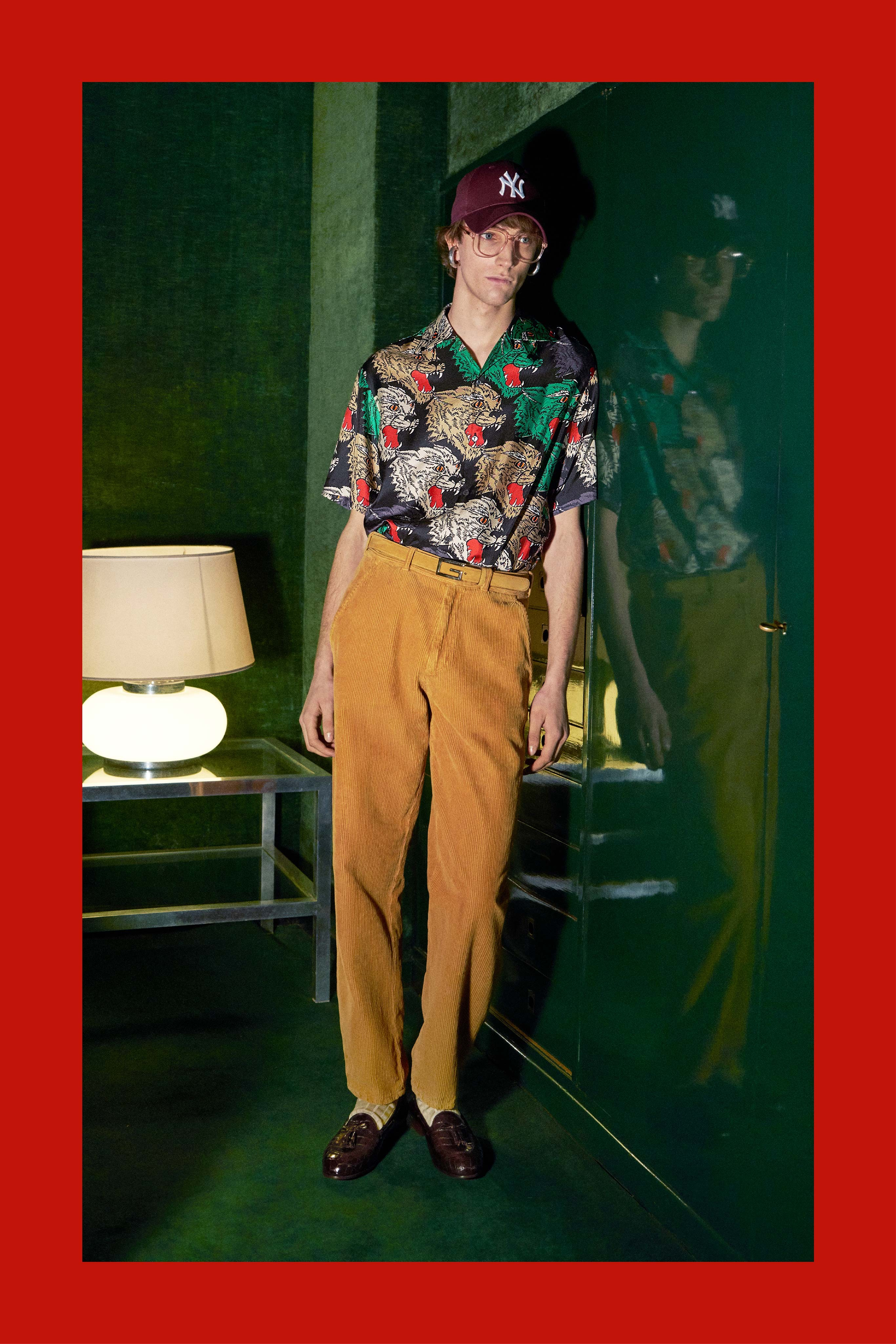 Look da coleção de pre fall 2018 da Gucci (Foto: Divulgação)
