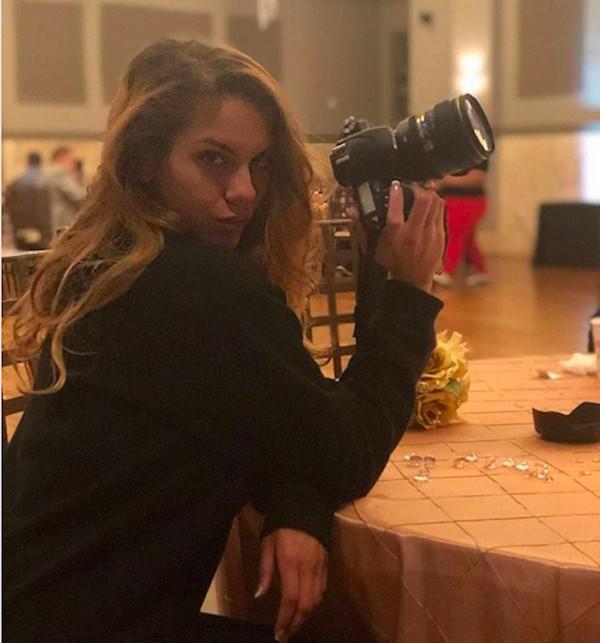A modelo e fotógrafa Katherine Mehta (Foto: Instagram)