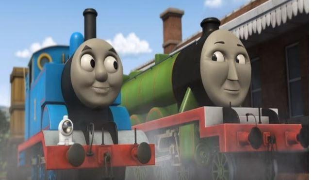 Thomas e seus amigos (Foto: Reprodução/Youtube)