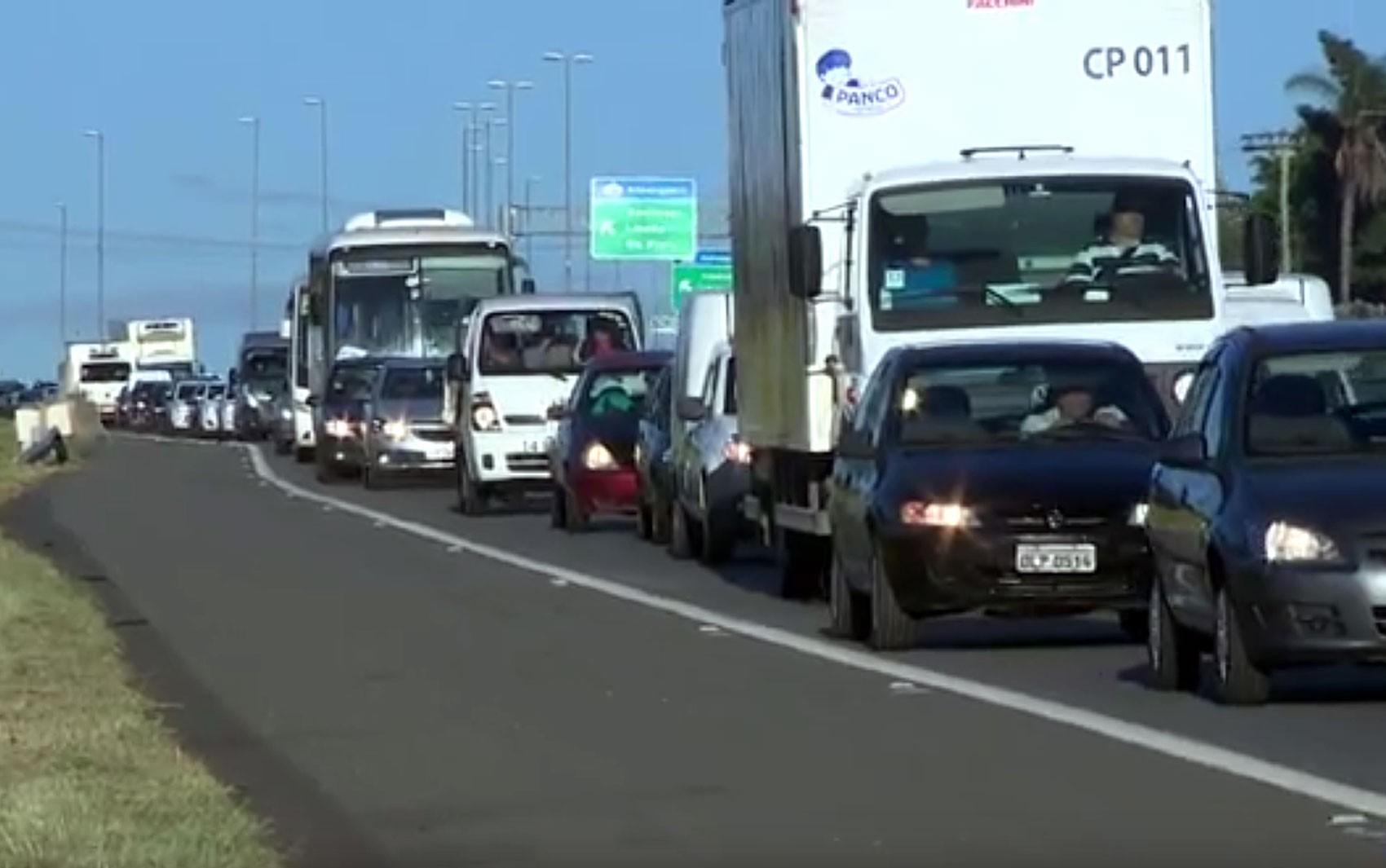 Rodovia Dom Pedro I, em Campinas, tem interdição na altura do shopping até sexta - Noticias