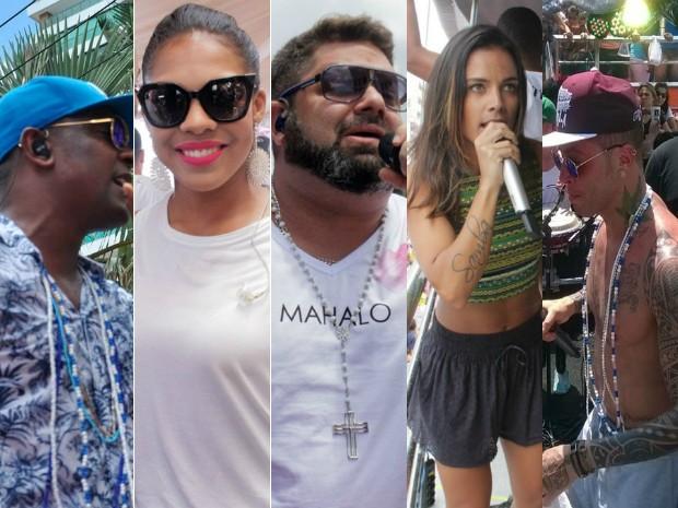 Márcio Victor, Danniel Vieira e convidados agitam Arrastão nesta Quarta de Cinzas (Foto: Arte / G1 Bahia)