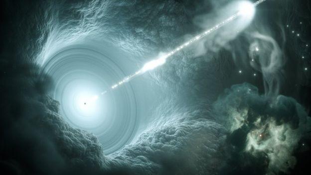 Emissão das partículas subatômicas elementares encontradas no Polo Sul vem de um corpo celeste localizado a 3,7 bilhões de anos-luz da Terra, na Constelação de Órion (Foto: DESY/SCIENCE COMMUNICATION LAB via BBC)