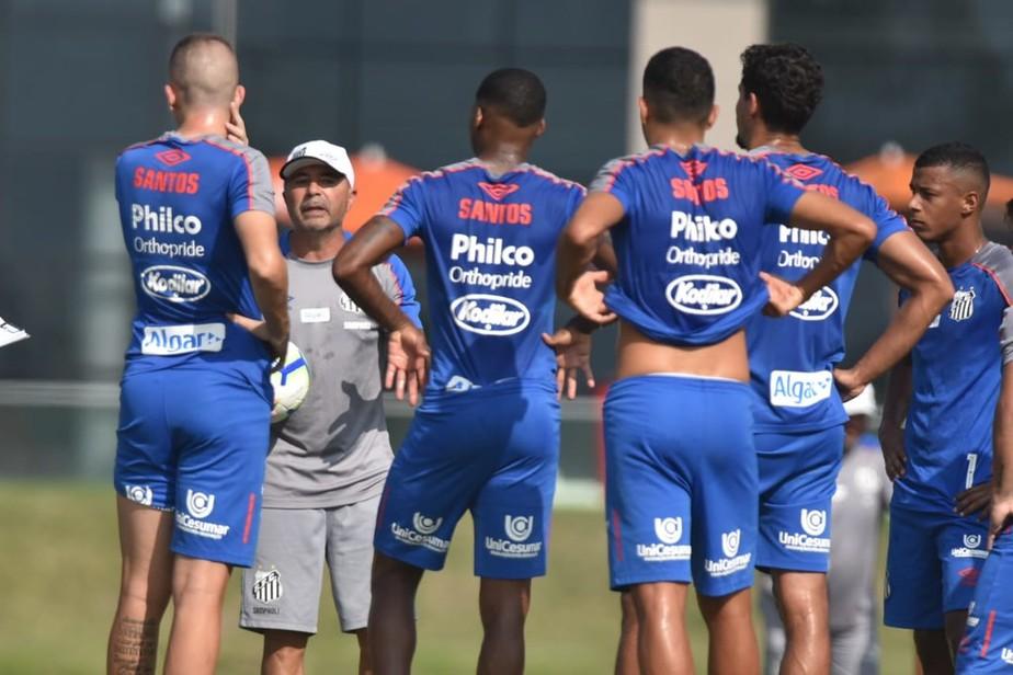 Grêmio x Santos: ainda no Rio, Sampaoli inicia preparação para estreia no Brasileirão