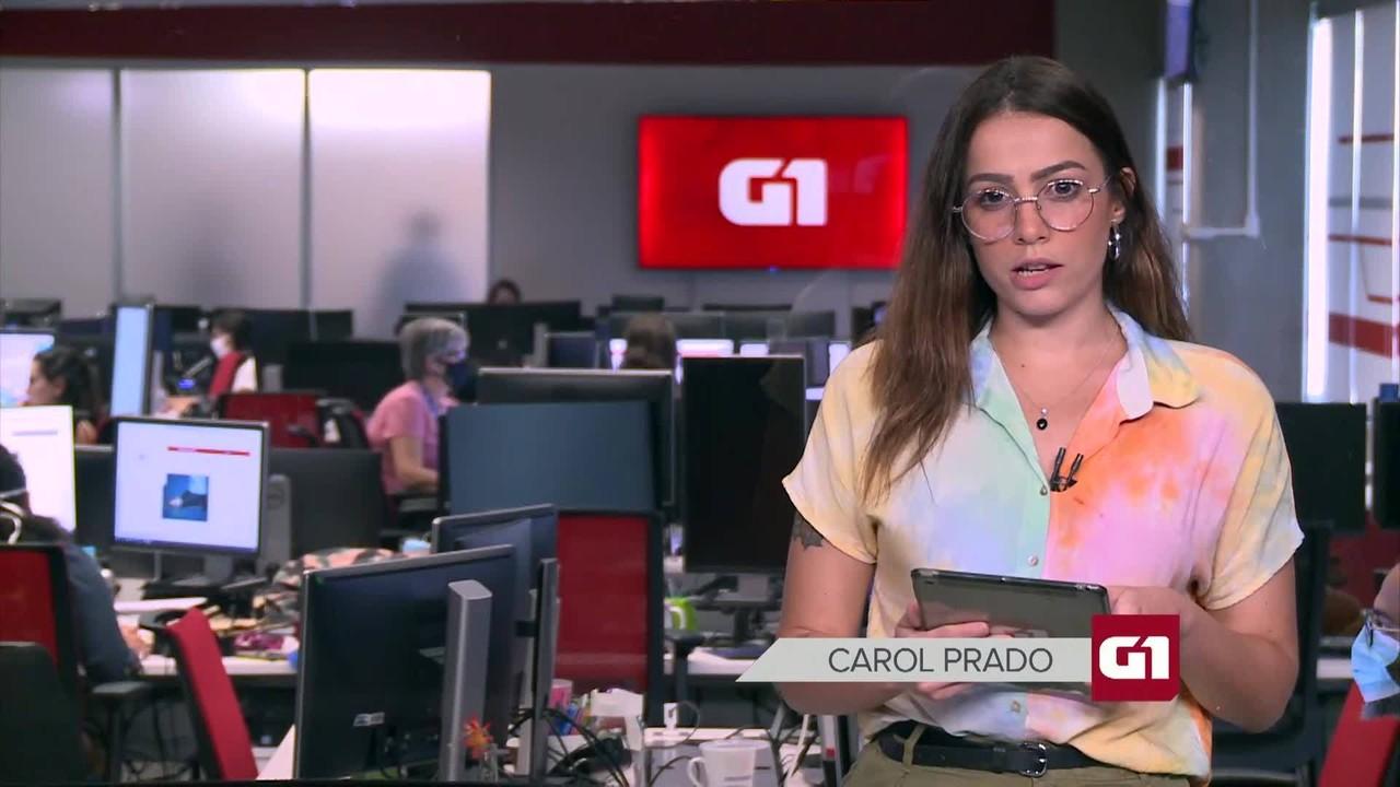 G1 em 1 Minuto: Brasil 'está de parabéns' por preservar meio ambiente, diz Bolsonaro