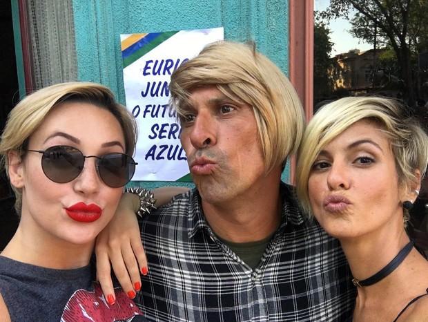 Josie Pessôa, Milhem Cortaz e Fernanda de Freitas (Foto: Reprodução/Instagram)