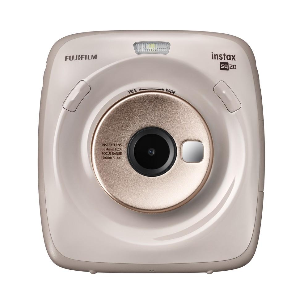 47b9c3666d4e3 ... SQ20 estará disponível nas cores preto e bege — Foto  Divulgação   Fujifilm