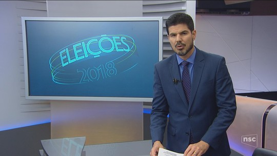 Veja a agenda dos candidatos ao governo de SC nesta terça-feira (18)