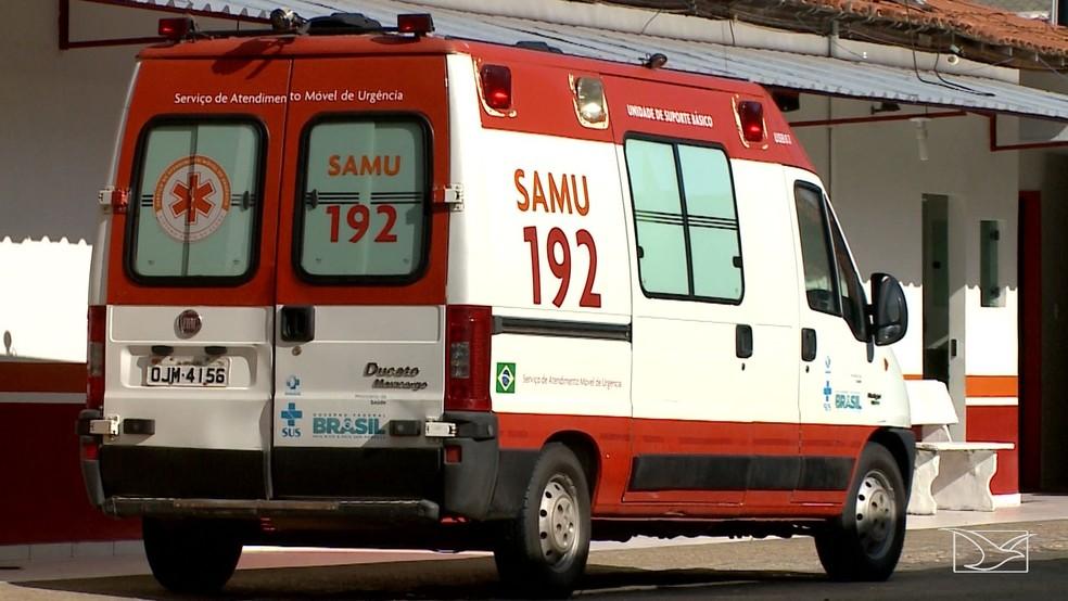Samu é denunciado por omissão de socorro em Imperatriz — Foto: Reprodução/TV Mirante