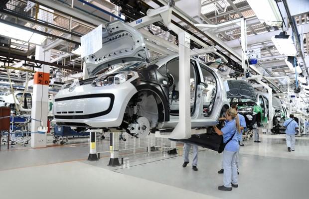 Fábrica da Volkswagen  (Foto: Divulgação)