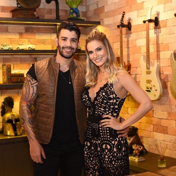 Gusttavo Lima e Andressa Suita (Foto: Instagram/Reprodução)