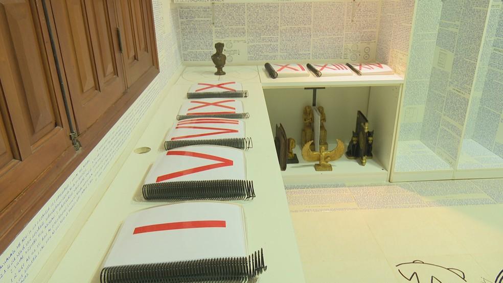 Bruno deixou 14 livros criptografados, segundo a mãe (Foto: Reprodução/Rede Amazônica Acre)