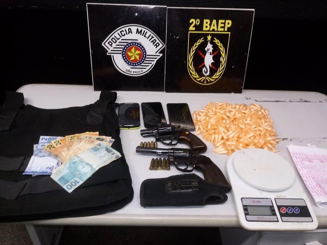 Operação do BAEP prende integrantes de facção criminosa na Baixada Santista - Notícias - Plantão Diário