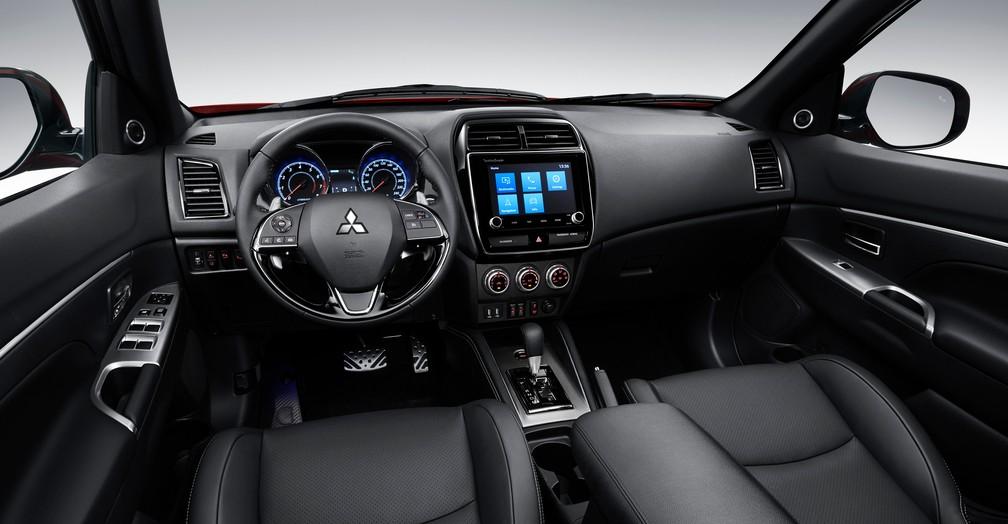 Interior do Mitsubishi ASX 2020 — Foto: Mitsubishi/Divulgação