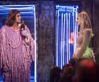 Na terça-feira, 4, João (Rafael Vitti) revelará que é o idealizador do programa de Manu (Isabelle Drummond) durante o Grande Prêmio da TV | Isabella Pinheiro/Gshow