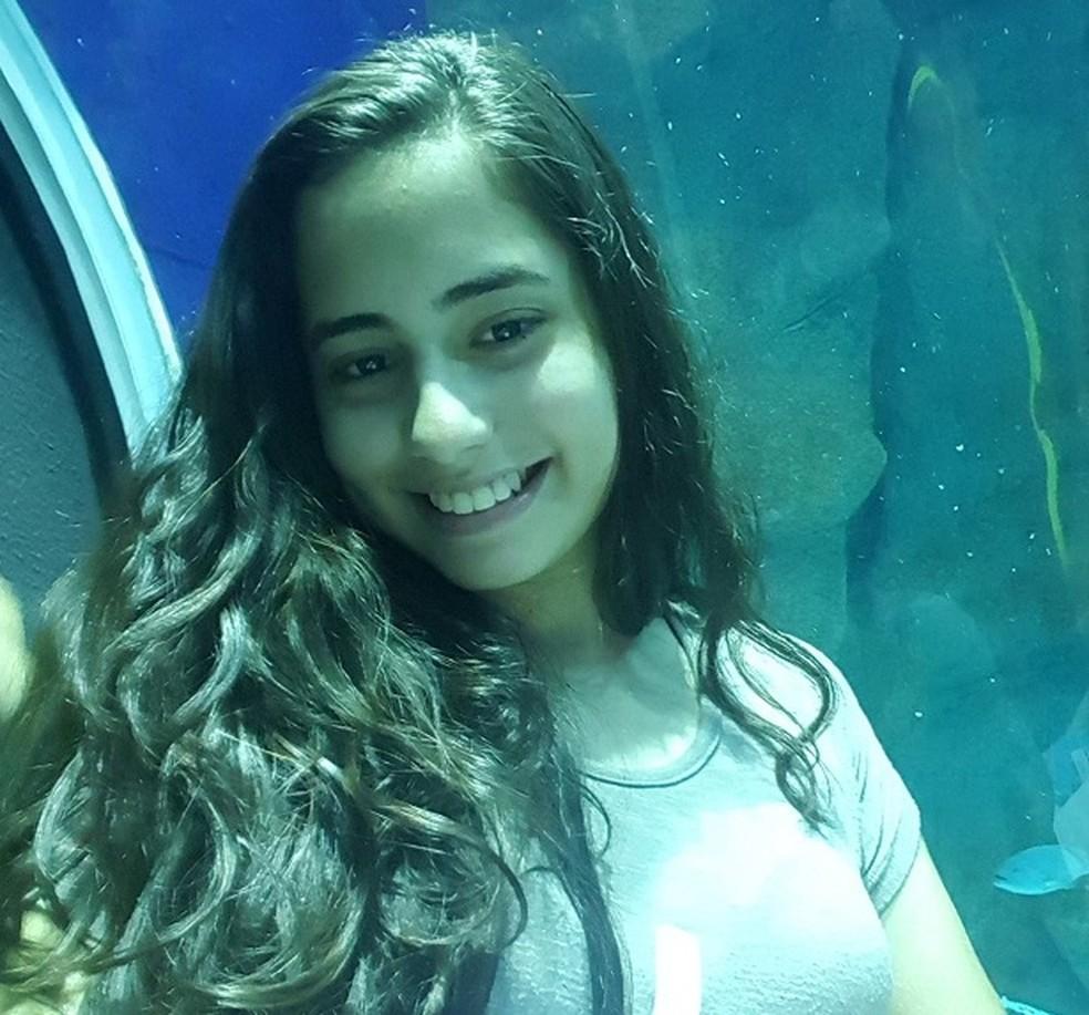 Melissa Fiuza, aluna nota mil na redação do Enem 2018 — Foto: Arquivo Pessoal