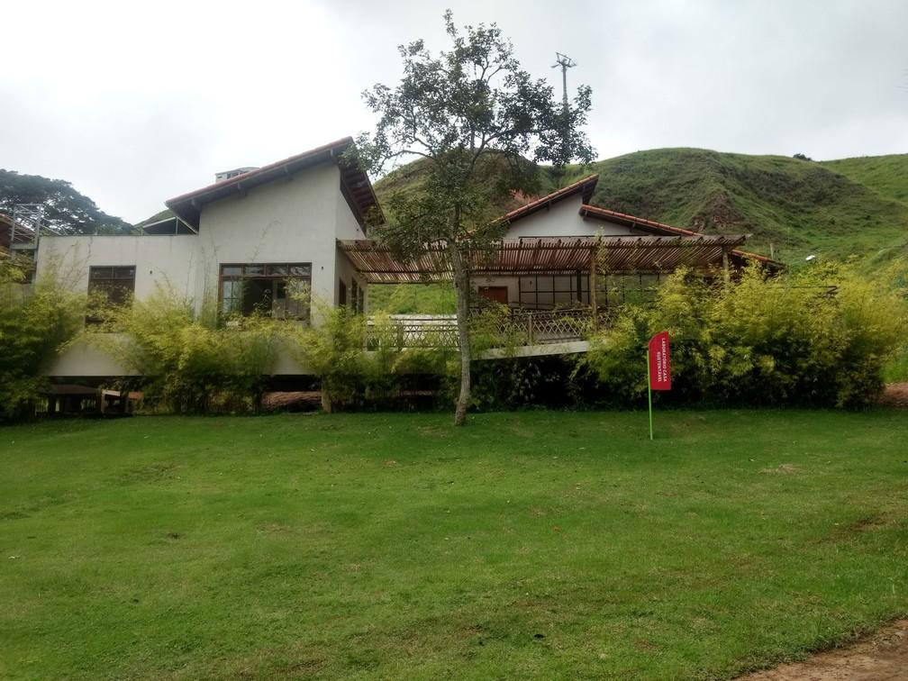 Laboratório Casa Sustentável funciona dentro do Jardim Botânico da UFJF — Foto: Roberta Oliveira/G1