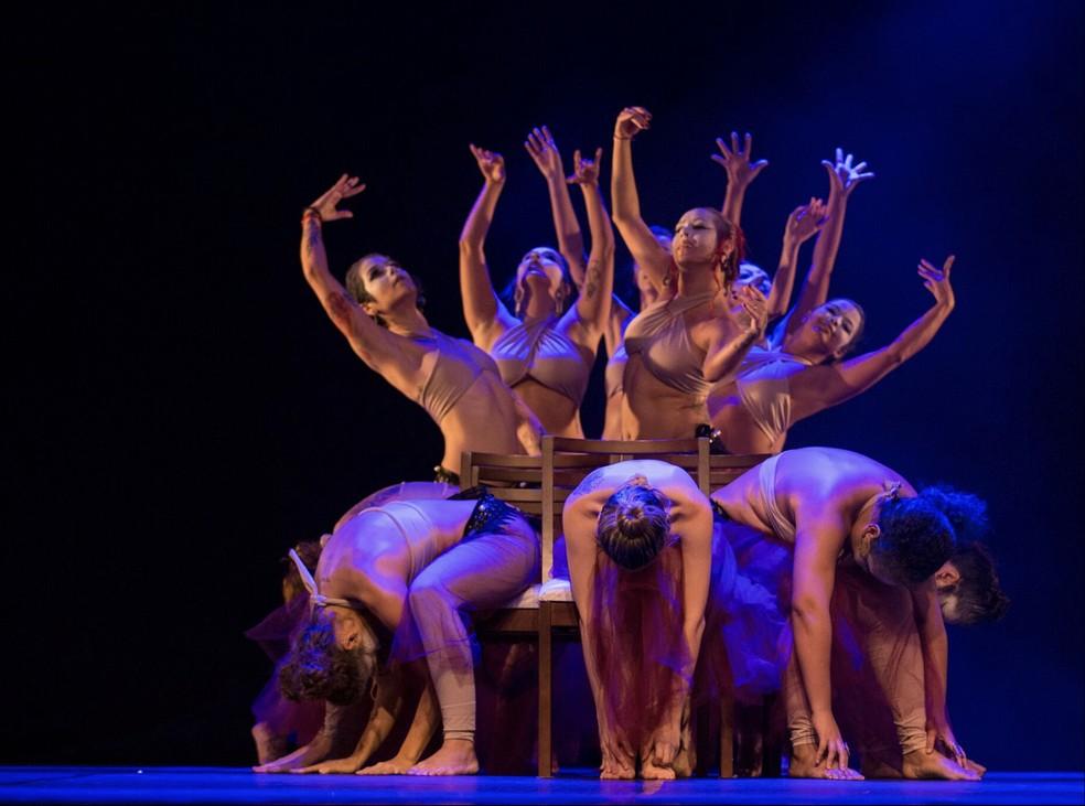 Companhia Shaman Tribal se apresentará junto com a bailaria estadunidense Mira Betz em Natal — Foto: Tiago Lima