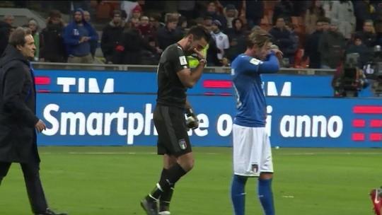 Itália decepciona, empata com a Suécia e está fora da Copa do Mundo