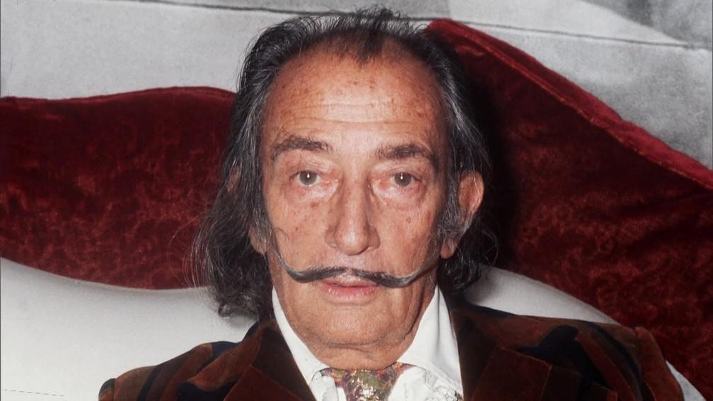 Salvador Dalí (Foto: Reprodução)