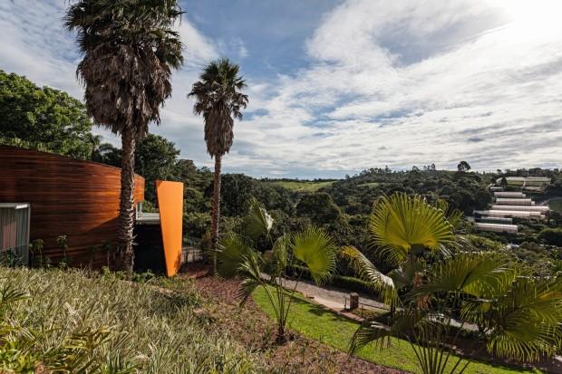 Hotel Unique Garden ganha novos chalés assinados por Ruy Ohtake (Foto: Tuca Renés/Divulgação)