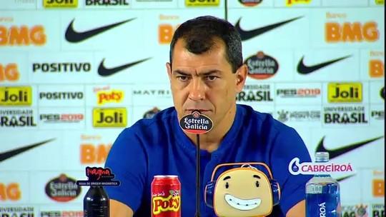 """Após virada do Corinthians, Carille diz: """"A gente precisa parar de tomar gols o quanto antes"""""""