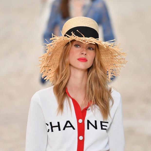 Beleza do desfile da Chanel (Spring Summer 19) (Foto: Getty Images)