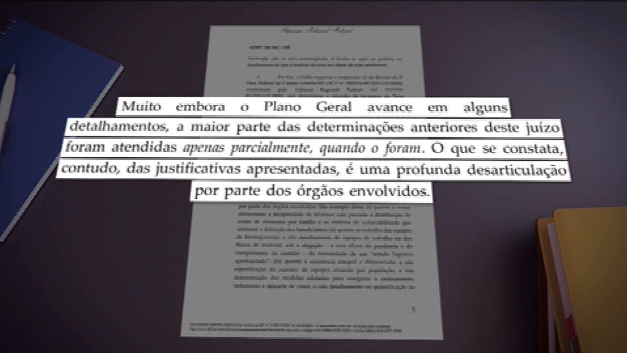 'Profunda desarticulação' do governo com indígenas, afirma Barroso sobre plano de combate à Covid