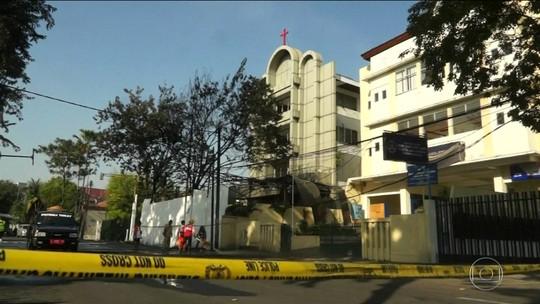 Explosão de bomba em delegacia deixa vários feridos na Indonésia