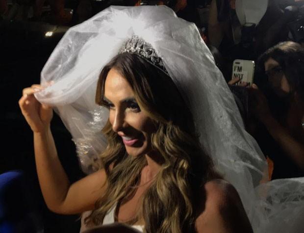 Convite de casamento de Nicole Bahls e Marcelo Bimbi (Foto: QUEM)