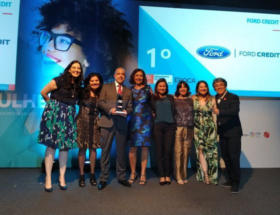 Equipe da Ford Credit é a vencedora do GPTW Mulher 2018 na categoria médio porte (Foto: Paula Soprana)