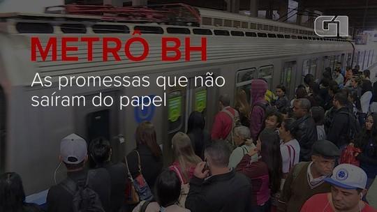 Promessas da linha 2 do metrô não saem do papel, apesar do alto investimento