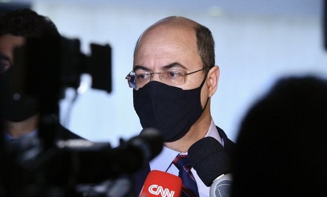 Wilson Witzel, ex-governador do Rio, depõe na CPI