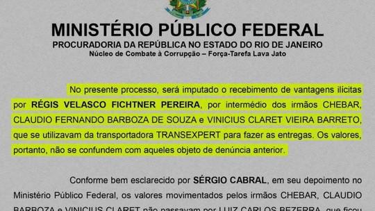 Cabral é acusado de corrupção e lavagem; é a 29ª denúncia