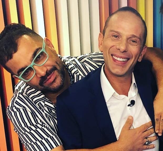 Evandro Santo e Rafael Ilha (Foto: Reprodução/Instagram)