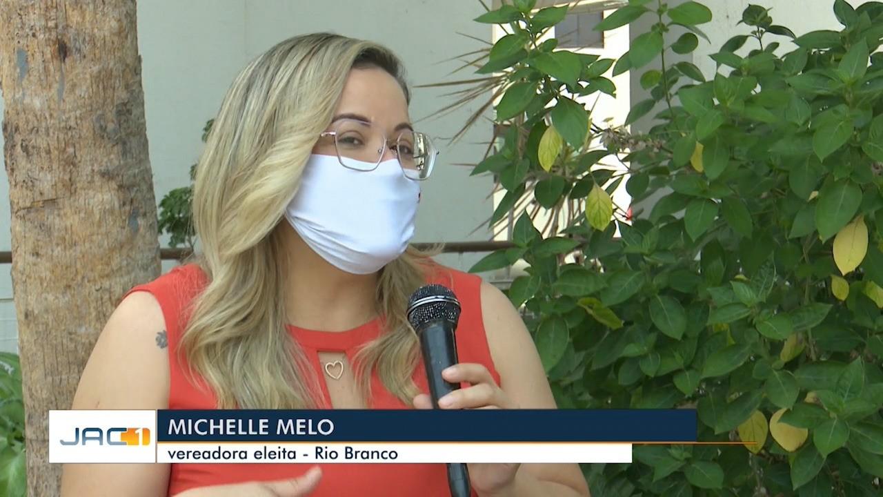 Vereadora mais votada de Rio Branco, Michelle Melo, fala sobre campanha e eleição