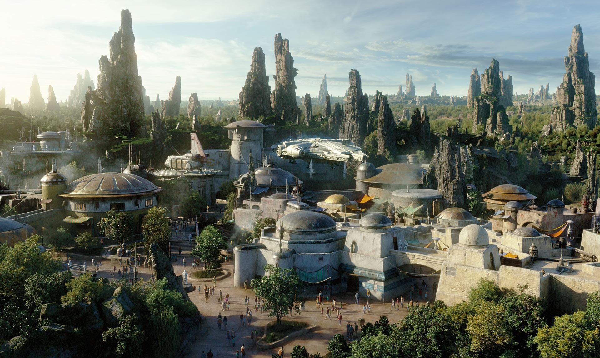 Universo do novo parque de Star Wars (Foto: Star Wars/ Divulgação)