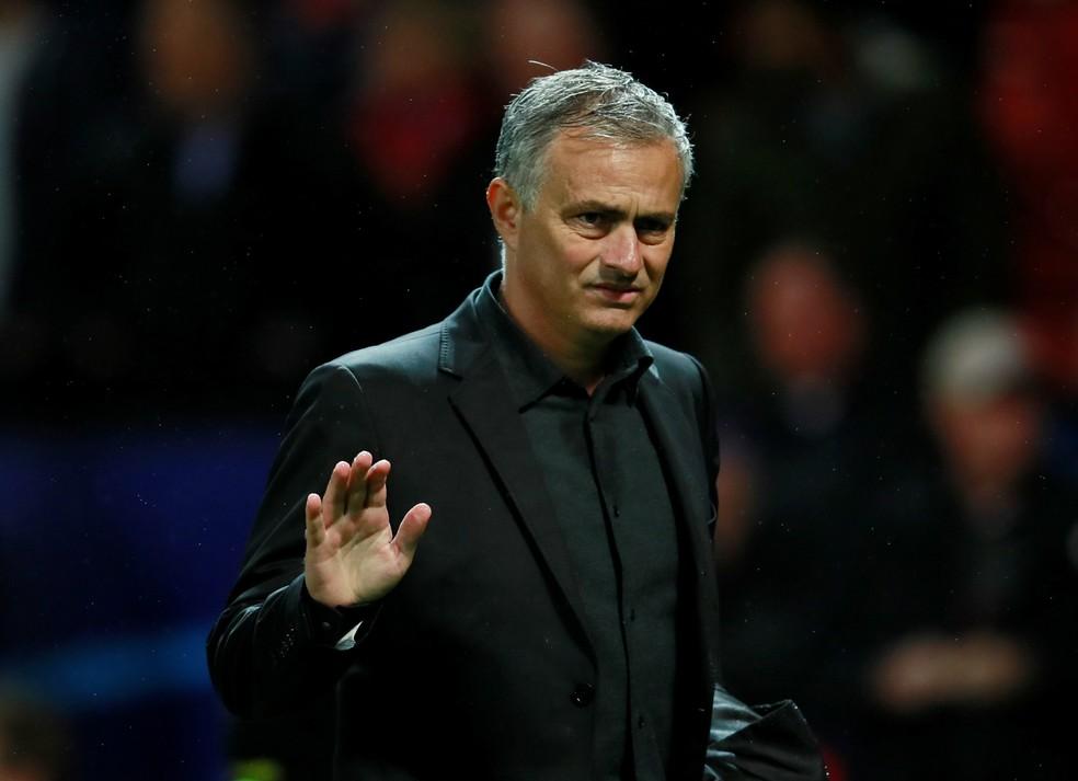José Mourinho não gostou da postura do United em triunfo (Foto: Reuters)