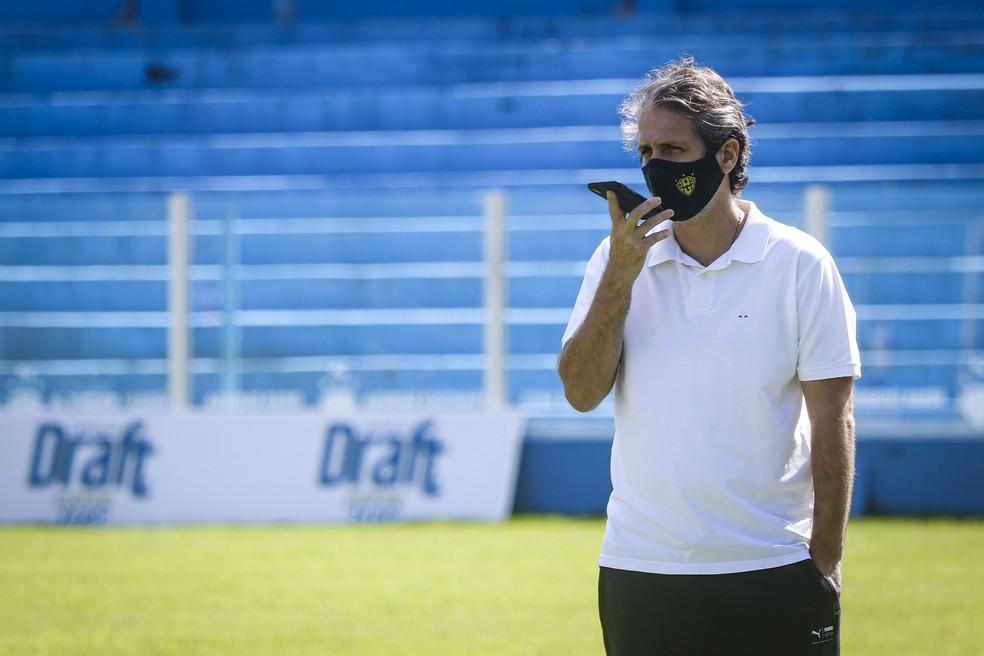 Ricardo Gluck Paul afirma que clube tem conversas avançadas com atletas — Foto: Jorge Luiz/Ascom Paysandu